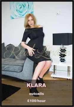 Klara Greater London  Female escort, Real London Escorts, 83640
